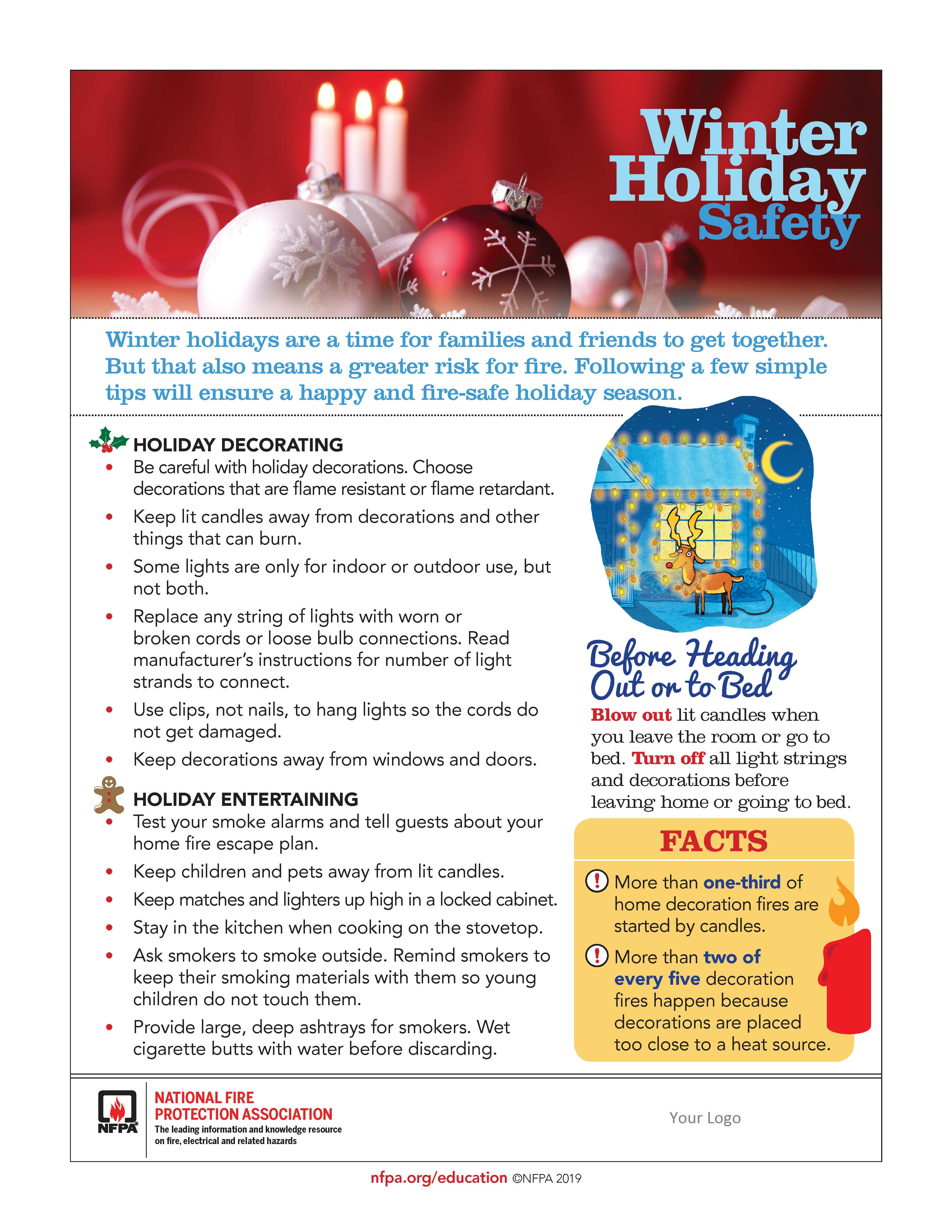 Ameri-Tech Emergency Management Christmas Tree Safety